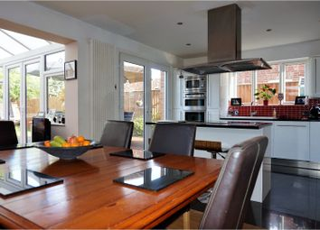 Thumbnail 4 bed detached house for sale in Fane Road, Peterborough