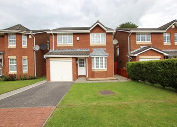 Thumbnail 4 bed detached house to rent in Carousel Crescent, Wishaw