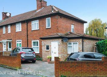 Thumbnail 3 bedroom end terrace house for sale in St. Albans Grove, Carshalton