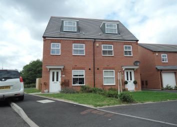Thumbnail 3 bed semi-detached house to rent in Willow Road, Norton Canes, Cannock