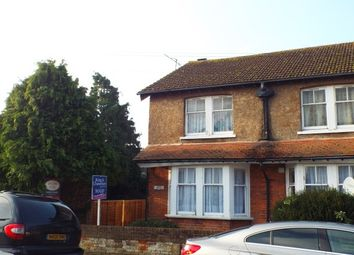 Thumbnail 1 bedroom property to rent in Beaumont Road, Broadwater, Worthing