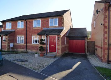 Thumbnail 3 bed semi-detached house for sale in Darmead, Weston-Super-Mare