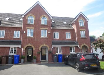 Thumbnail 3 bed town house for sale in Steeple Way, Stoke, Stoke-On-Trent, Staffordshire
