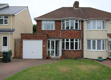 Thumbnail 3 bed semi-detached house to rent in Elsma Road, Oldbury