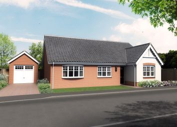 Thumbnail 3 bed detached bungalow for sale in Plot 6, Barn Owl Close, Reedham