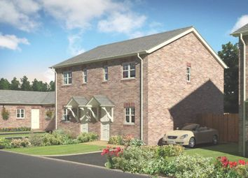 Thumbnail 2 bed semi-detached house for sale in Plot 12, Badgers Fields, Arddleen, Llanymynech, Powys
