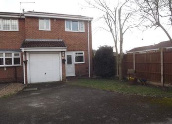 Thumbnail 2 bedroom end terrace house for sale in Pinecroft Court, Oakwood, Derby, Derbyshire