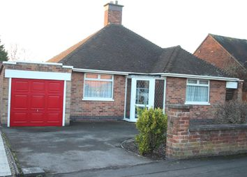 Thumbnail 2 bed detached bungalow for sale in Greenmoor Road, Burbage, Hinckley
