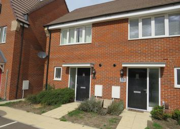 Thumbnail 2 bed semi-detached house for sale in Whinchat Gardens, Leighton Buzzard