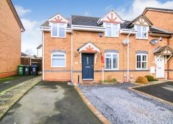 Thumbnail 3 bed end terrace house for sale in Chicory Drive, Boughton Vale, Rugby