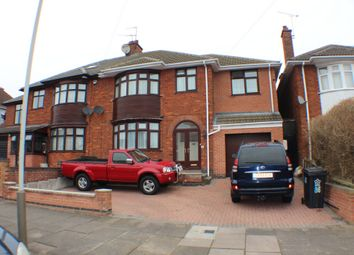 Thumbnail 5 bedroom semi-detached house for sale in Romway Road, Leicester