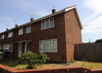 Thumbnail 3 bed end terrace house to rent in Bentley Close, Lillington, Leamington Spa