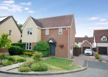 Thumbnail 4 bed detached house for sale in Salmons Close, Barnston, Dunmow