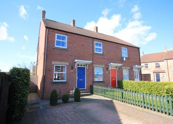 Thumbnail 2 bed end terrace house for sale in Craigs Way, Thirsk
