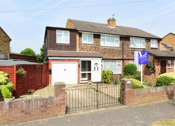 Thumbnail 3 bed semi-detached house for sale in Hurtwood Road, Walton-On-Thames