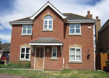 Thumbnail 4 bed detached house to rent in Silverstone Road, Doddington Park, Lincoln