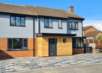 Thumbnail 5 bed detached house for sale in Chestnut Close, Broughton Astley, Leicester