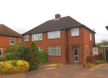 Thumbnail 3 bedroom semi-detached house for sale in Aylesbury Road, Bedford, Bedfordshire