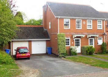 Thumbnail 2 bed semi-detached house for sale in Harebell Close, Hartley Wintney, Hook