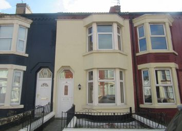 Thumbnail 3 bed terraced house to rent in Gonville Road, Bootle
