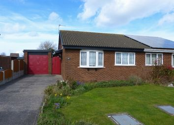 Thumbnail 2 bed semi-detached bungalow for sale in Bryn Elian Grove, Kinmel Bay, Rhyl