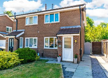 Thumbnail 2 bed semi-detached house for sale in Dundee Close, Fearnhead, Warrington