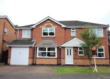 Thumbnail 5 bedroom detached house for sale in Oakwood Gardens, Nuthall, Nottingham