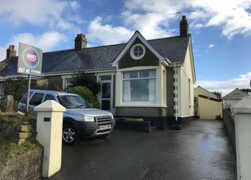 Thumbnail 4 bed semi-detached house for sale in Polmear Road, St Austell