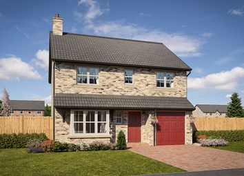 "Thumbnail 4 bed detached house for sale in ""Belsay"" at Mason Avenue, Consett"