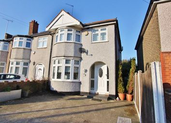 Thumbnail 3 bed end terrace house for sale in Marlborough Road, Romford