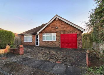 Thumbnail 3 bed detached bungalow for sale in Stirling Close, Seaford, East Sussex