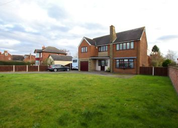 Thumbnail 4 bed detached house for sale in Sluice Road, South Ferriby, North Lincolnshire