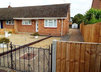 Thumbnail 2 bed semi-detached bungalow for sale in Clarkes Lane, Gooderstone, King's Lynn