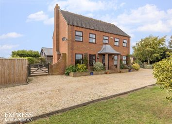 Thumbnail 6 bed detached house for sale in Middle Drove, St Johns Fen End, Wisbech, Norfolk