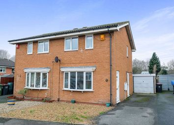Thumbnail 2 bed semi-detached house for sale in Grovefields, Leegomery, Telford