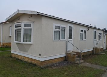Thumbnail 1 bedroom mobile/park home for sale in St Osyth Road East, Little Clacton
