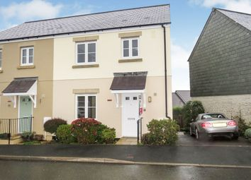 Thumbnail 3 bed terraced house for sale in Dellohay Park, Saltash