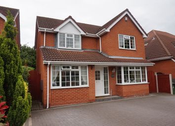 Thumbnail 4 bed detached house for sale in Selker Drive, Amington, Tamworth