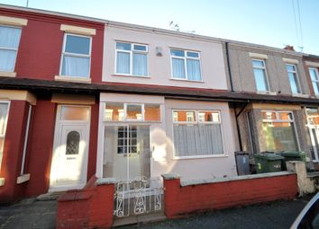 Thumbnail 3 bed terraced house for sale in Longview Avenue, Wallasey