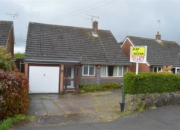 Thumbnail 3 bed detached house to rent in Folly Lane, Cheddleton, Leek