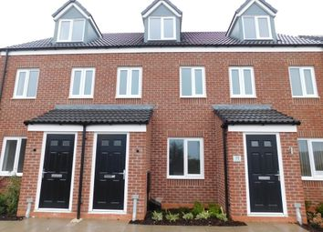 Thumbnail 3 bed town house to rent in Goldcrest Lane, Clipstone Village, Mansfield