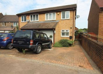 Thumbnail 3 bed semi-detached house for sale in Arundel Drive, Borehamwood
