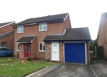 Thumbnail 2 bed semi-detached house to rent in Wolsey Road, Lichfield