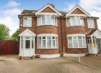 Thumbnail 4 bed semi-detached house for sale in Woodview Avenue, Chingford, London