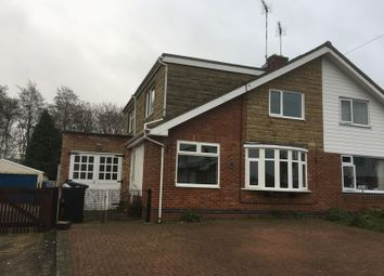 Thumbnail 3 bed semi-detached house to rent in Manor Road, Daventry