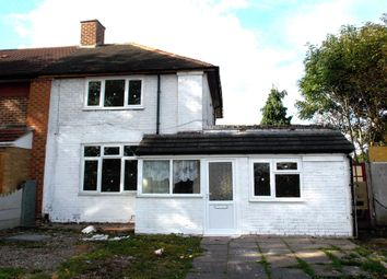 Thumbnail 2 bed terraced house to rent in Eddish Road, Kitts Green, Birmingham