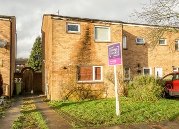 Thumbnail 2 bed end terrace house for sale in Bramble Avenue, Conniburrow, Milton Keynes