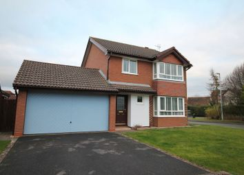 Thumbnail 4 bed detached house for sale in Grasby Close, Barnwood, Gloucester