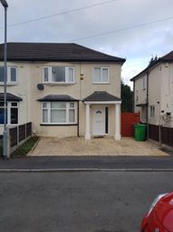 Thumbnail 3 bed semi-detached house for sale in Kingsway Crescent, Manchester