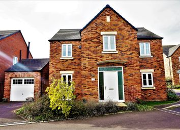 Thumbnail 4 bed detached house for sale in Spring Gardens, Alfreton